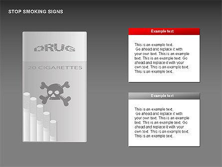 Free Stop Smoking Signs Slide 3