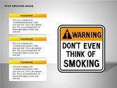 Free Stop Smoking Signs#10