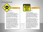 Free Stop Smoking Signs#11