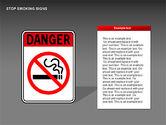 Free Stop Smoking Signs#13