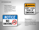 Free Stop Smoking Signs#14