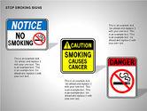 Free Stop Smoking Signs#4