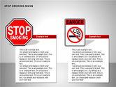 Free Stop Smoking Signs#8