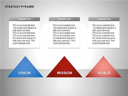 Strategy Pyramid Diagrams, Slide 12, 00257, Organizational Charts — PoweredTemplate.com