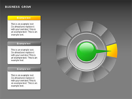 Business Growth Stages Diagrams, Slide 7, 00259, Stage Diagrams — PoweredTemplate.com