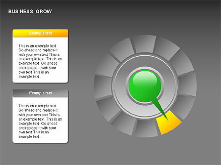 Business Growth Stages Diagrams, Slide 9, 00259, Stage Diagrams — PoweredTemplate.com