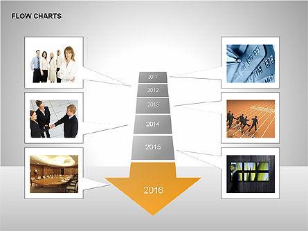 Timeline Diagram Collection, Slide 10, 00260, Timelines & Calendars — PoweredTemplate.com