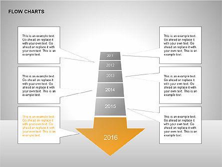 Timeline Diagram Collection, Slide 11, 00260, Timelines & Calendars — PoweredTemplate.com