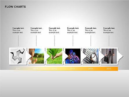 Timeline Diagram Collection, Slide 13, 00260, Timelines & Calendars — PoweredTemplate.com