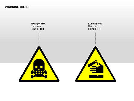 Shapes: Warning Signs Collection #00261