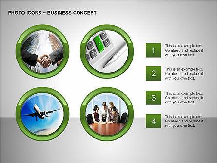 Photo Icons, Slide 10, 00263, Icons — PoweredTemplate.com
