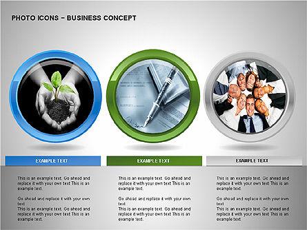 Photo Icons, Slide 12, 00263, Icons — PoweredTemplate.com