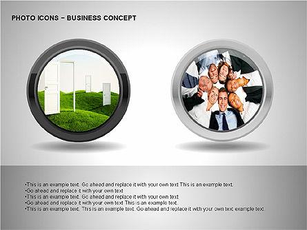 Photo Icons, Slide 13, 00263, Icons — PoweredTemplate.com
