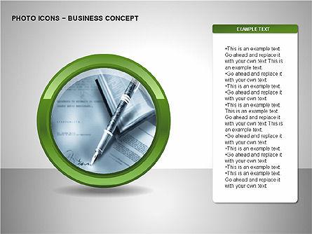 Photo Icons, Slide 14, 00263, Icons — PoweredTemplate.com