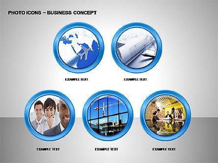 Photo Icons, Slide 15, 00263, Icons — PoweredTemplate.com