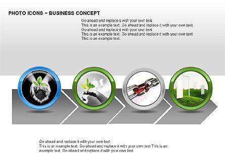 Photo Icons, Slide 5, 00263, Icons — PoweredTemplate.com