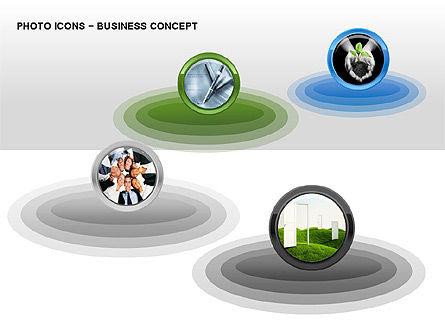 Photo Icons, Slide 6, 00263, Icons — PoweredTemplate.com