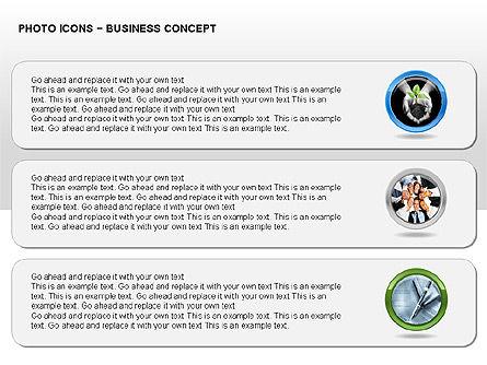 Photo Icons, Slide 7, 00263, Icons — PoweredTemplate.com