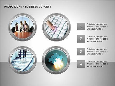 Photo Icons, Slide 8, 00263, Icons — PoweredTemplate.com