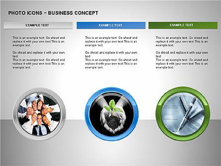 Photo Icons, Slide 9, 00263, Icons — PoweredTemplate.com