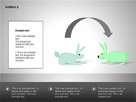 Animals Diagrams, Slide 6, 00264, Education Charts and Diagrams — PoweredTemplate.com