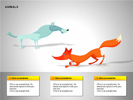 Animals Diagrams, Slide 8, 00264, Education Charts and Diagrams — PoweredTemplate.com
