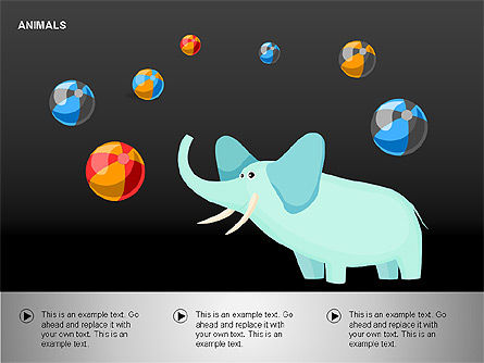 Animals Diagrams, Slide 9, 00264, Education Charts and Diagrams — PoweredTemplate.com