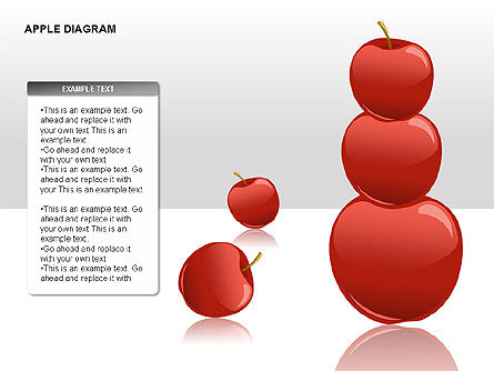 Apple Diagrams Collection, Slide 12, 00266, Stage Diagrams — PoweredTemplate.com