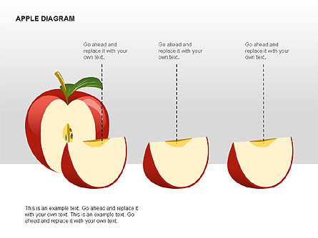 Apple Diagrams Collection, Slide 13, 00266, Stage Diagrams — PoweredTemplate.com