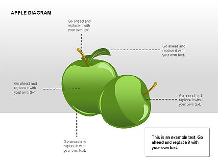 Apple Diagrams Collection, Slide 7, 00266, Stage Diagrams — PoweredTemplate.com