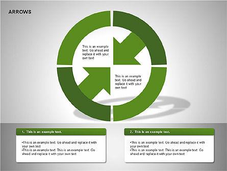Arrows Collection Diagrams, Slide 11, 00267, Business Models — PoweredTemplate.com
