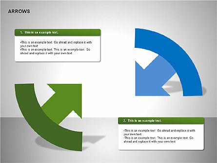 Arrows Collection Diagrams, Slide 15, 00267, Business Models — PoweredTemplate.com