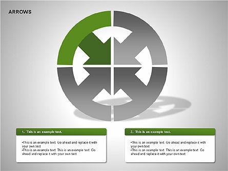 Arrows Collection Diagrams, Slide 2, 00267, Business Models — PoweredTemplate.com