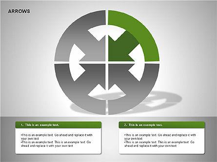 Arrows Collection Diagrams, Slide 3, 00267, Business Models — PoweredTemplate.com