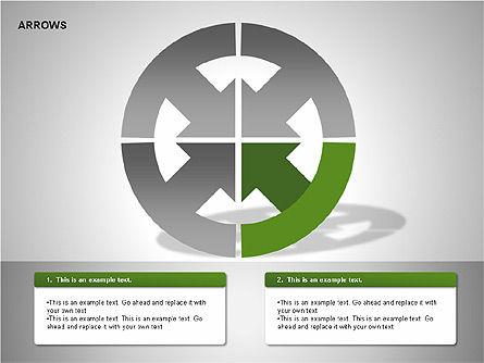 Arrows Collection Diagrams, Slide 4, 00267, Business Models — PoweredTemplate.com