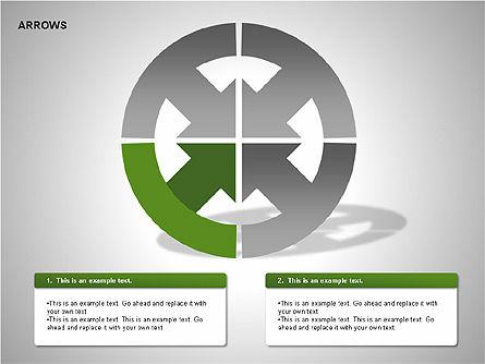Arrows Collection Diagrams, Slide 5, 00267, Business Models — PoweredTemplate.com