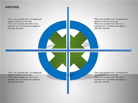 Arrows Collection Diagrams, Slide 6, 00267, Business Models — PoweredTemplate.com