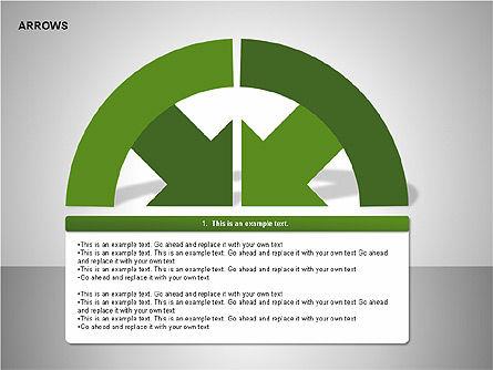Arrows Collection Diagrams, Slide 7, 00267, Business Models — PoweredTemplate.com