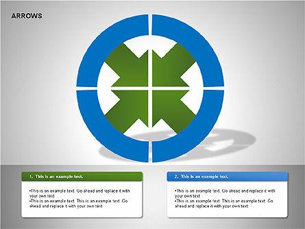Arrows Collection Diagrams, Slide 8, 00267, Business Models — PoweredTemplate.com