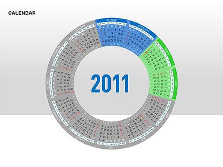 PowerPoint Calendar, Slide 5, 00270, Timelines & Calendars — PoweredTemplate.com