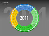 Timelines & Calendars: PowerPoint Calendar #00270