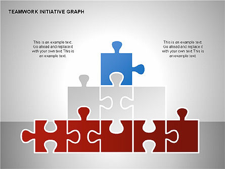 Teamwork Puzzles Diagrams, Slide 11, 00275, Puzzle Diagrams — PoweredTemplate.com
