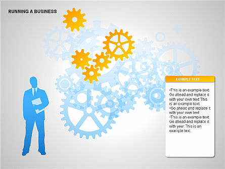 Shapes: Running Business Diagrams #00276