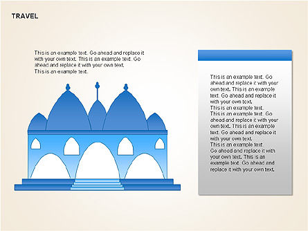 Landmark Shapes and Diagrams, Slide 2, 00278, Shapes — PoweredTemplate.com