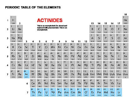 Periodic Table of Elements, Slide 7, 00280, Education Charts and Diagrams — PoweredTemplate.com