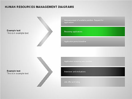 Human Resources Management Diagrams, Slide 6, 00281, Pie Charts — PoweredTemplate.com