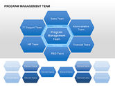 Graph Charts: Program Management Team Charts #00282