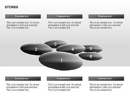 Stones Diagrams, Slide 10, 00285, Stage Diagrams — PoweredTemplate.com