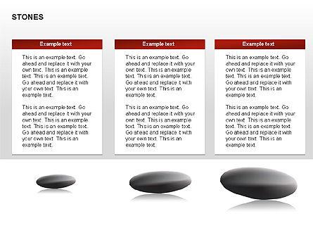 Stones Diagrams, Slide 11, 00285, Stage Diagrams — PoweredTemplate.com