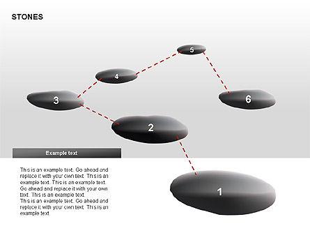 Stones Diagrams, Slide 12, 00285, Stage Diagrams — PoweredTemplate.com